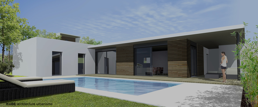 Perspective villa strate intermédiaire Green Life Saint-etienne