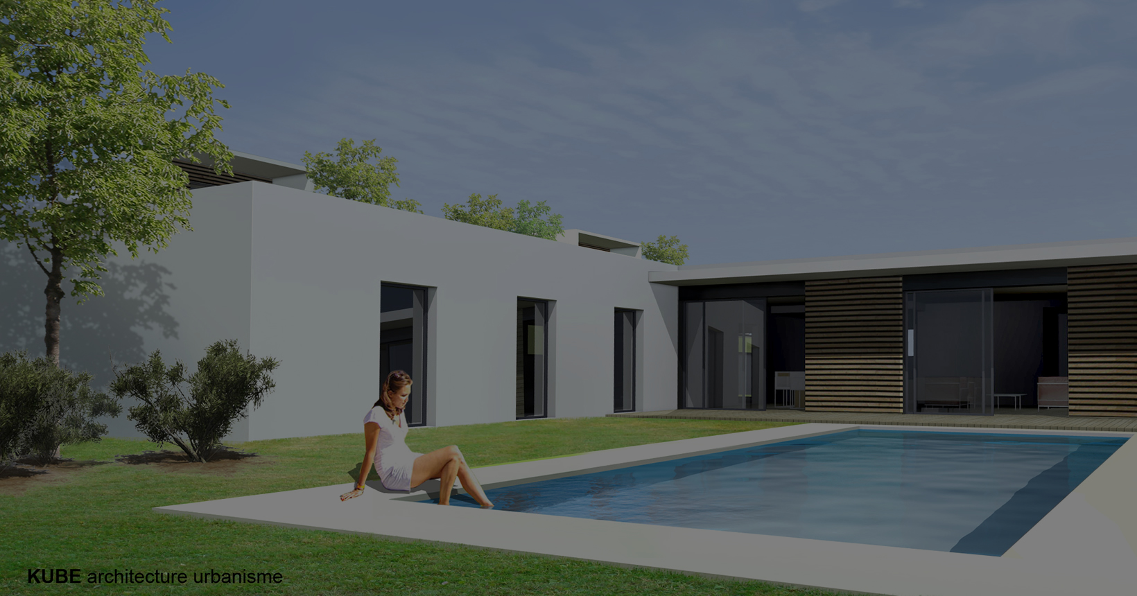 Perspective villa Green Life Saint-etienne